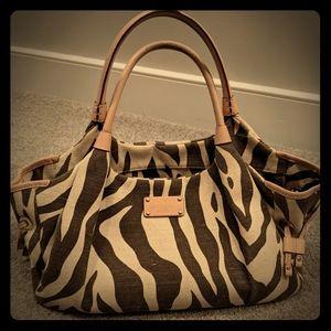 Kate Spade Zebra Stripe Bag